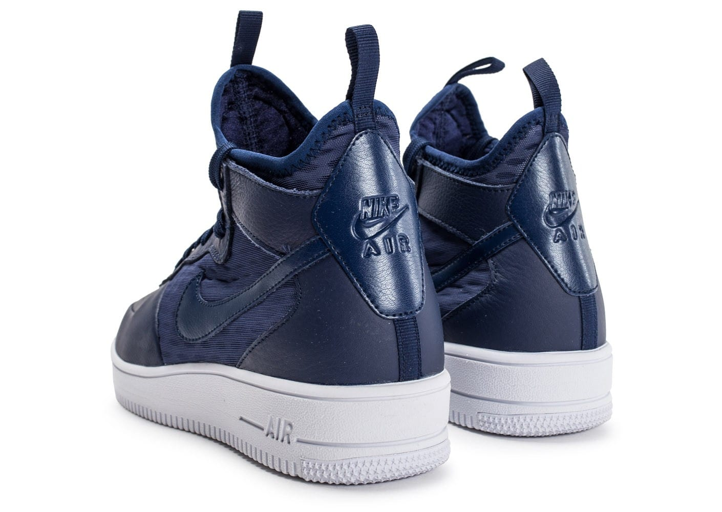 Force Ultraforce 1 Air Bleue Baskets Mid Homme Nike Chaussures Yf6y7vbg
