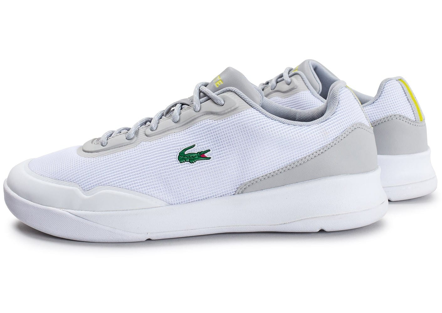 Lacoste Baskets/Running Lt Spirit Elite Blanche Homme