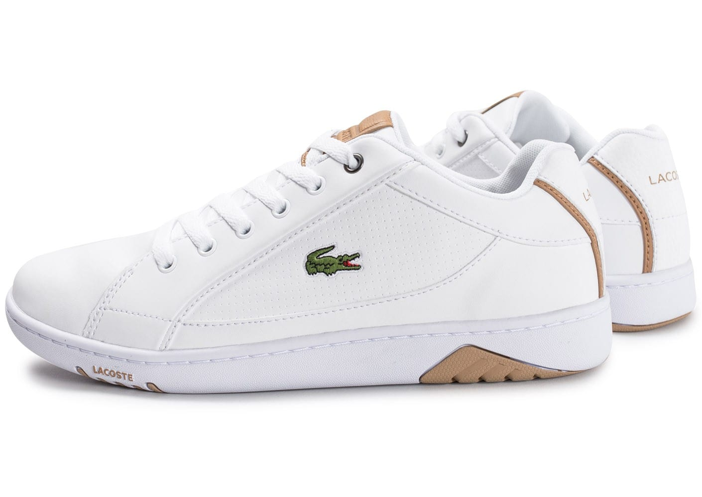 Homme Chaussures Eh07s9 Blanches Lacoste Survivor SwcAgTExqw