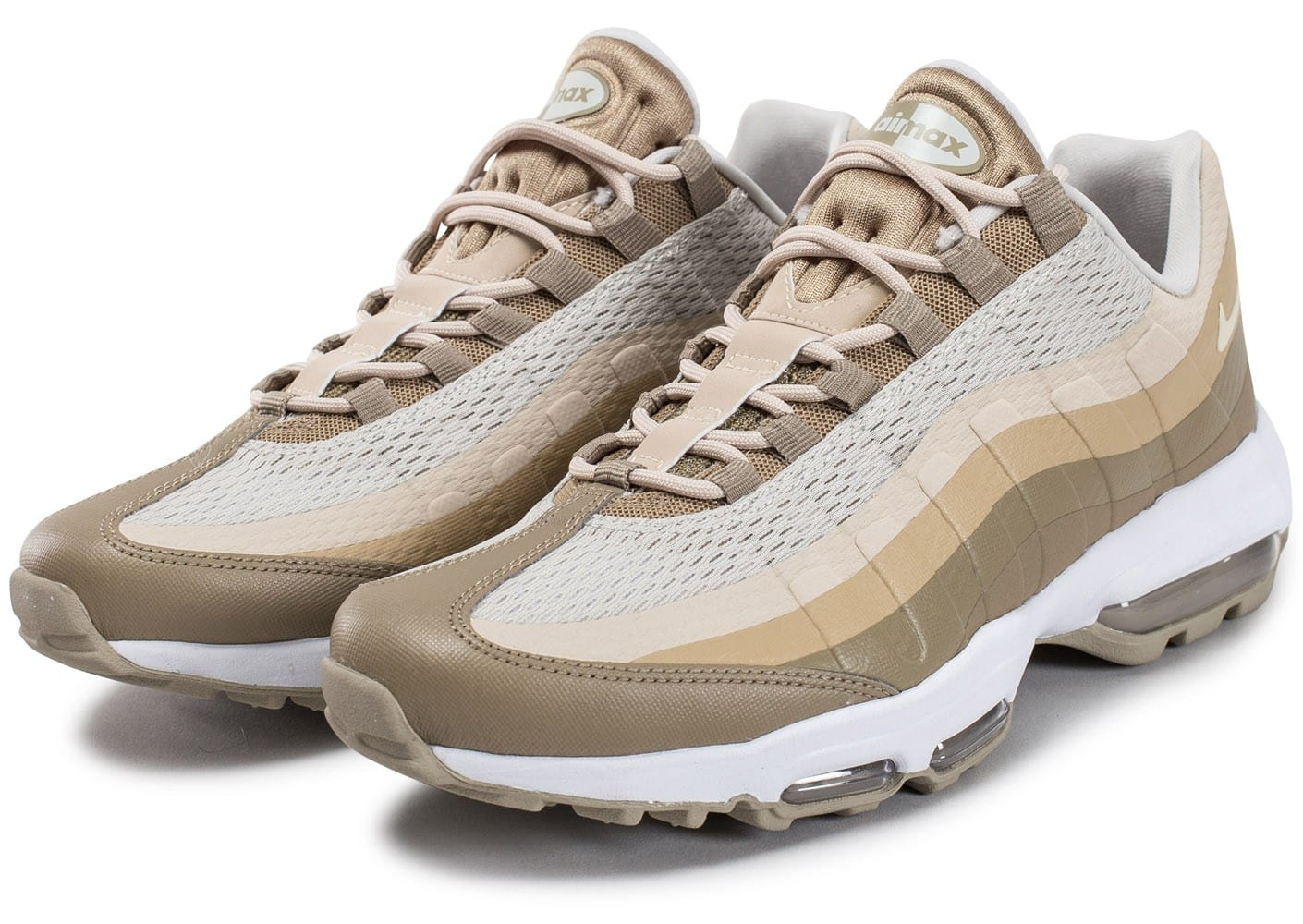 Nike Air Max 95 Ultra Essential beige Chaussures Baskets