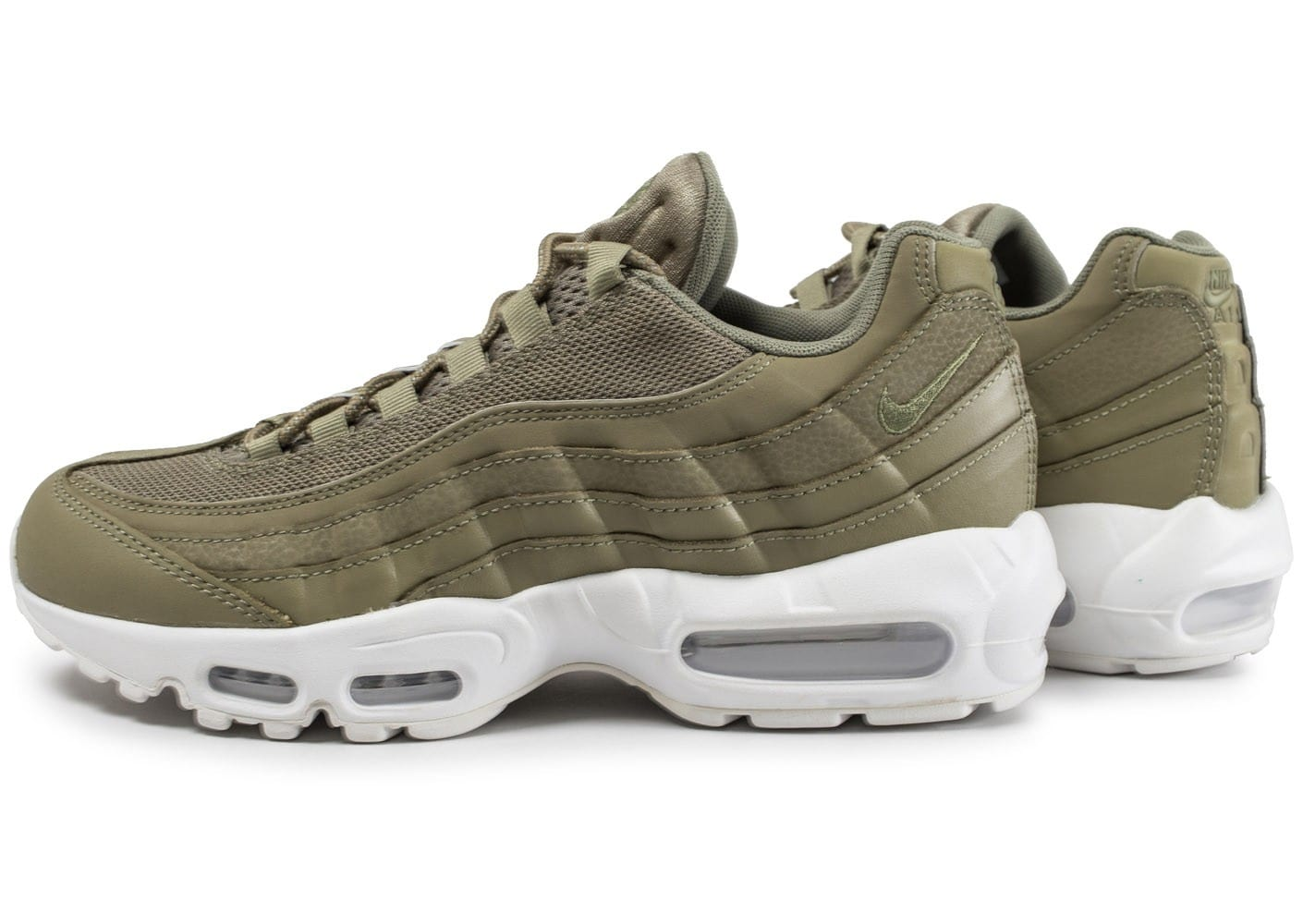 new york best choice best wholesaler Nike Air Max 95 Essential kaki - Chaussures Baskets homme ...