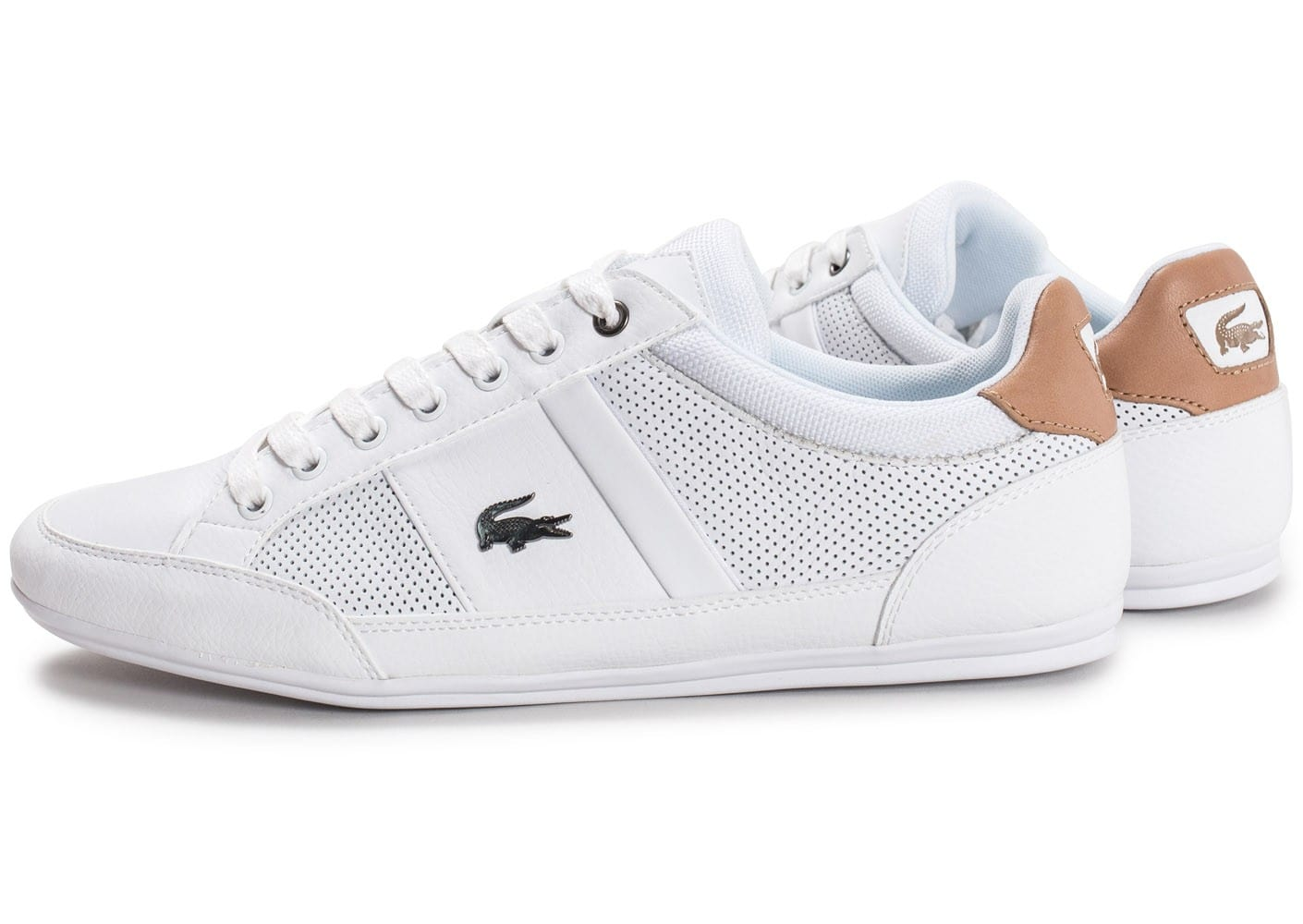 Chaussures Lacoste blanches homme UlDpS0E7J