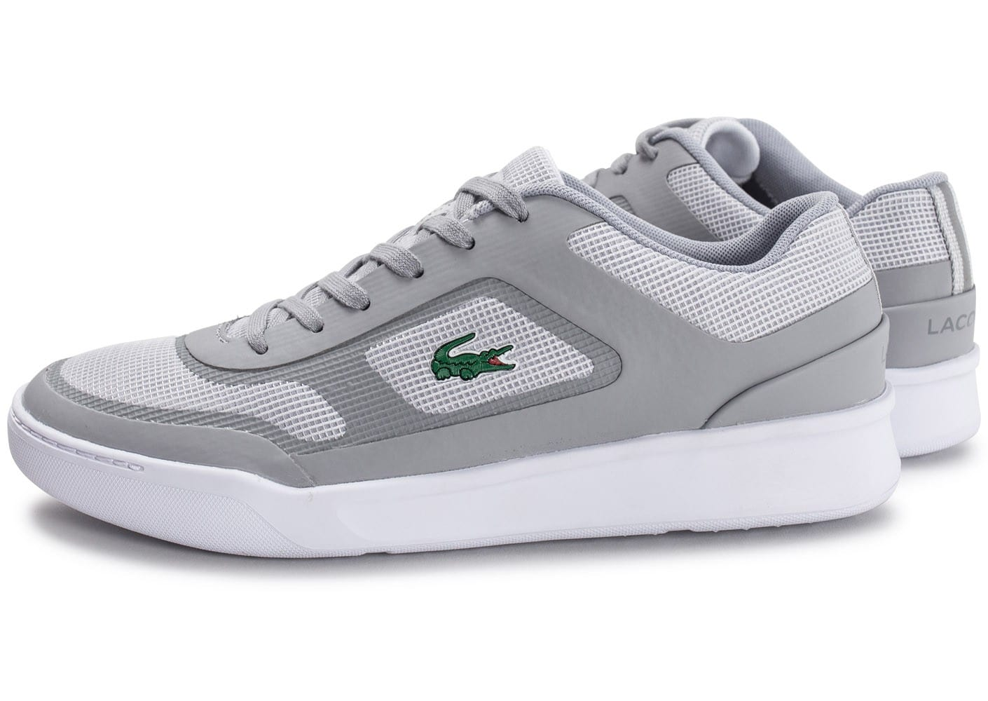 Lacoste Baskets/Tennis Explorateur Sport Gris Clair Homme