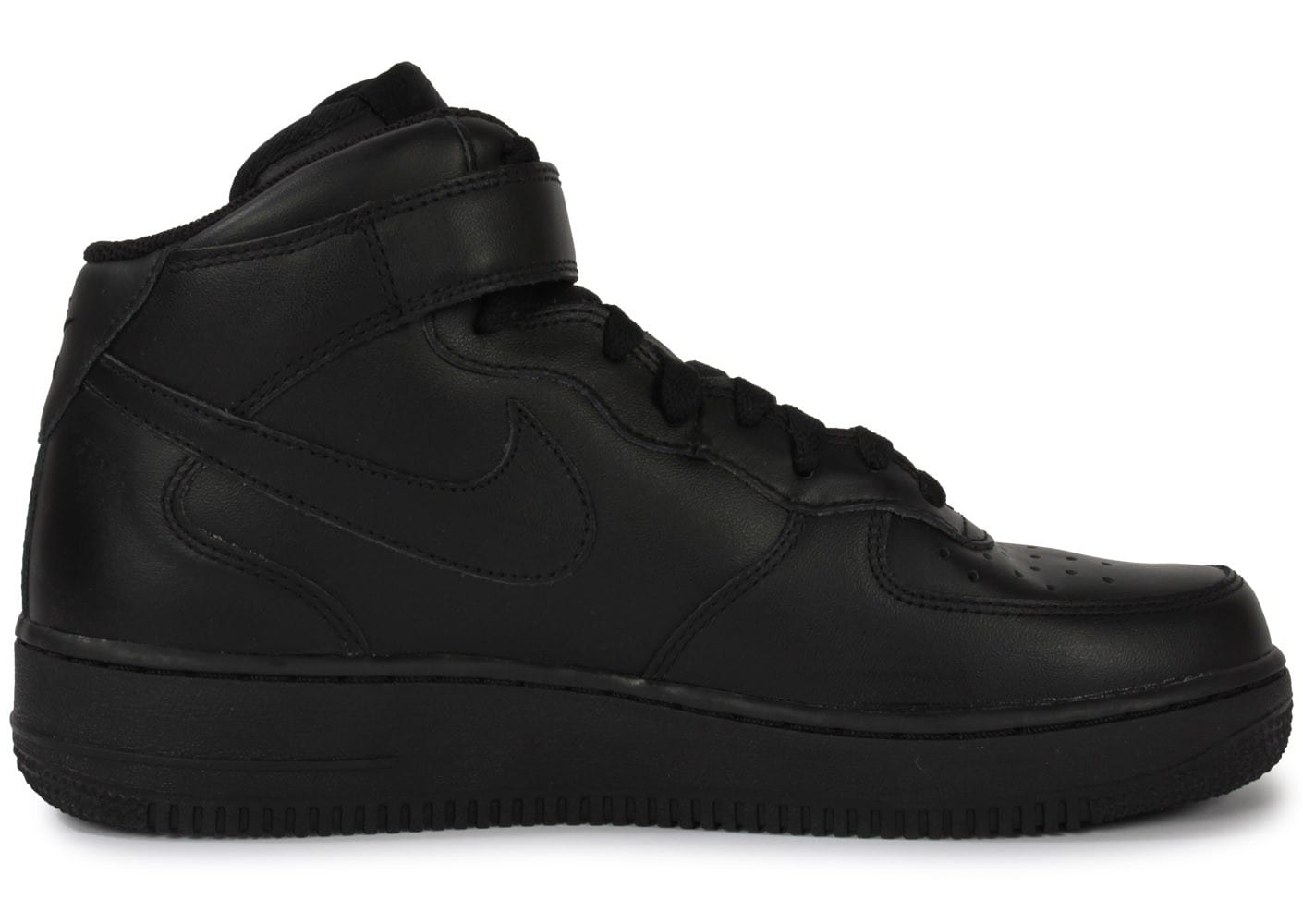 grossiste 51519 de5be Nike Air Force 1 Mid 07 Noire - Chaussures Baskets homme ...