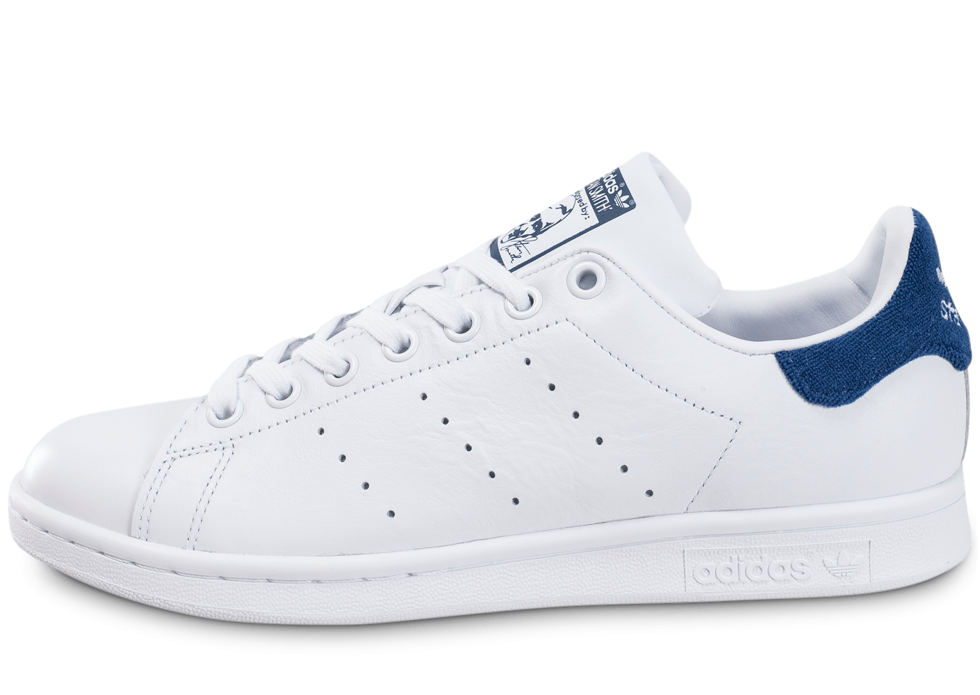 stan smith homme bleu blanc rouge