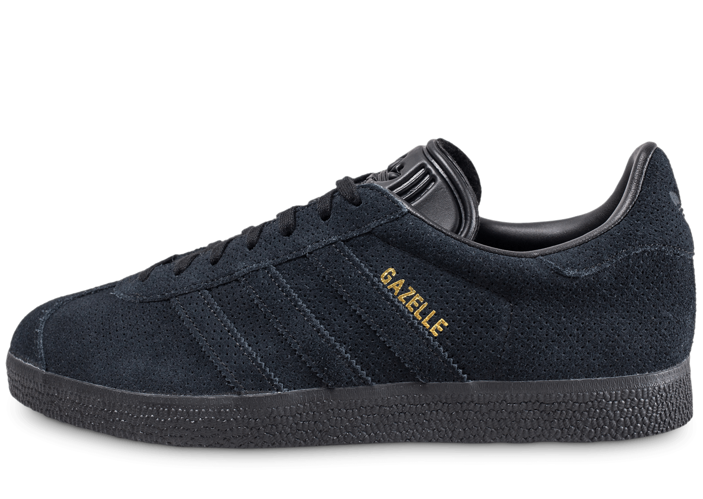 adidas gazelle noir or