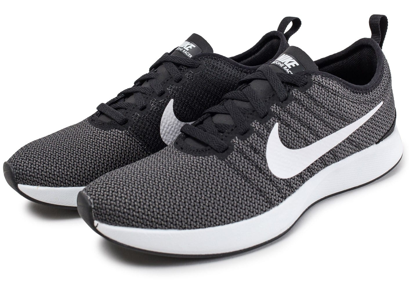 nike dualtone racer f noire et blanche chaussures black friday chausport. Black Bedroom Furniture Sets. Home Design Ideas