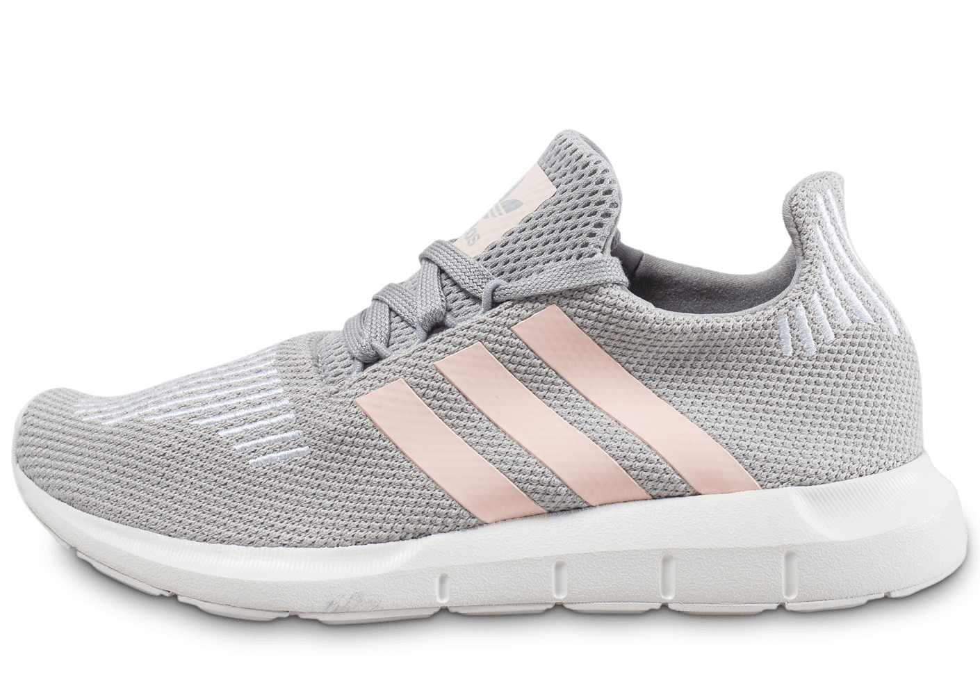 size 40 4e583 a14d3 adidas Swift Run grise et rose - Chaussures adidas - Chausport