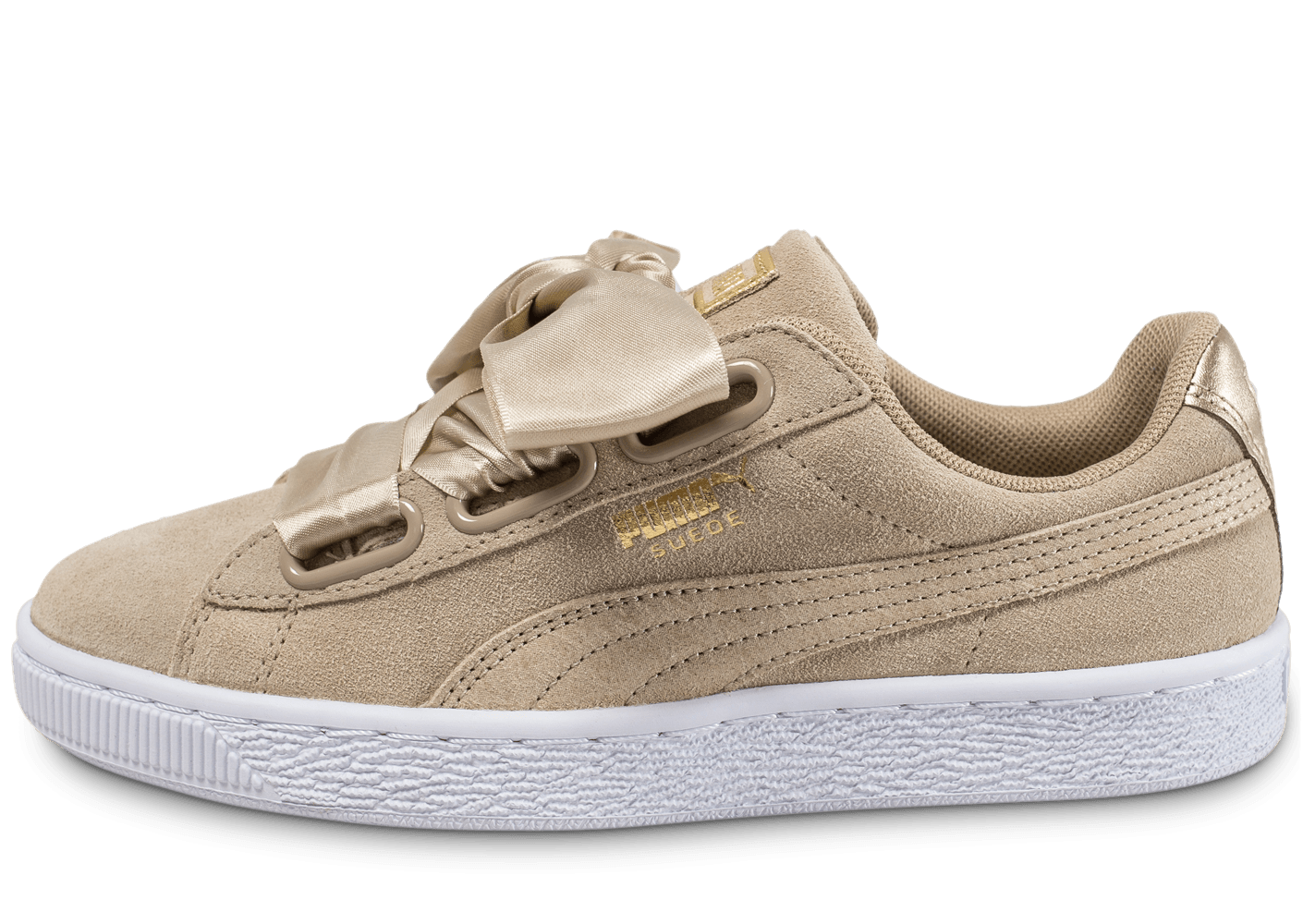 on sale 13481 d1519 Puma Suede Heart Safari beige