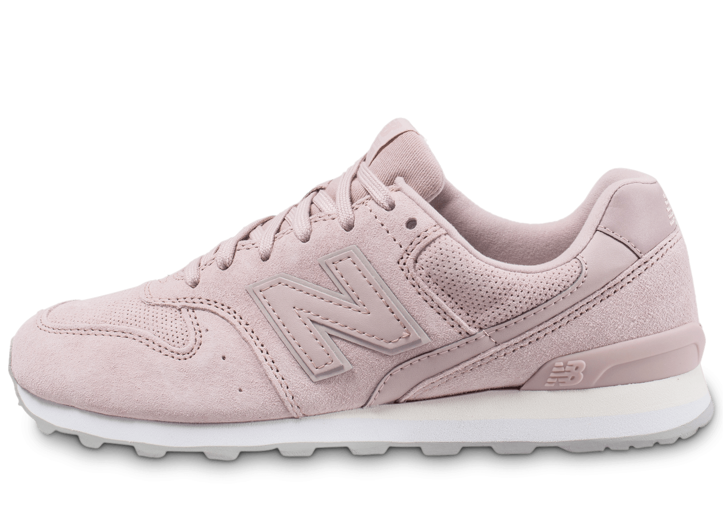 baskets new balance rose