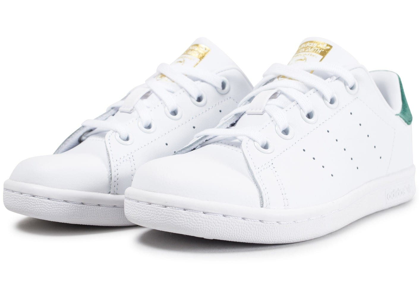 adidas stan smith enfant blanche et verte chaussures adidas chausport. Black Bedroom Furniture Sets. Home Design Ideas