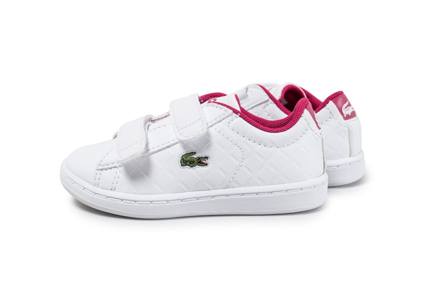 Lacoste Bb Carnaby Evo bleu, baskets mode enfant