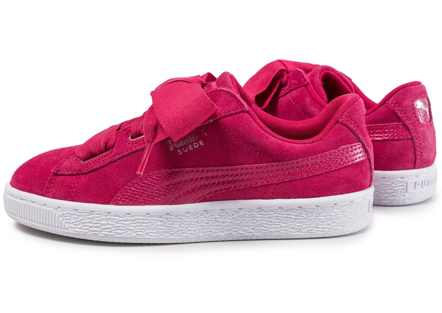 Snake Suede Chaussures Heart Chausport Rose Puma Enfant TlXZiuPOwk