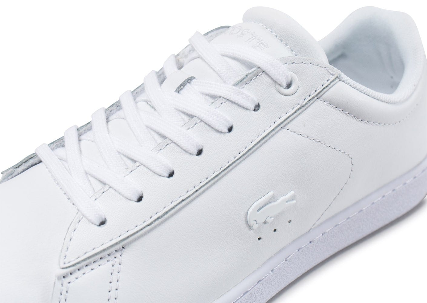 Chaussures Baskets Lacoste Carnaby Evo Spw Blanche 417 Femme dCxBeWQoEr
