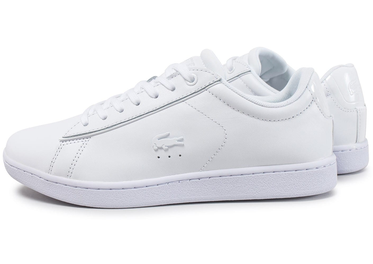Spw Blanche Femme Lacoste Baskets Evo Carnaby Chaussures 417 YyfmIg7b6v