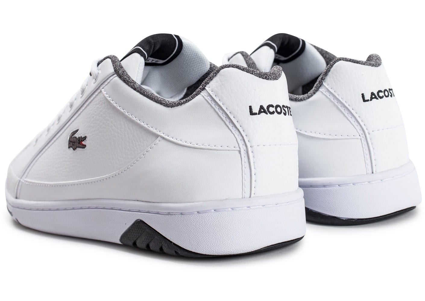 Grise Lacoste Deviation Et Blanche Chaussures Su1s7naf Homme Baskets EH9WD2YI