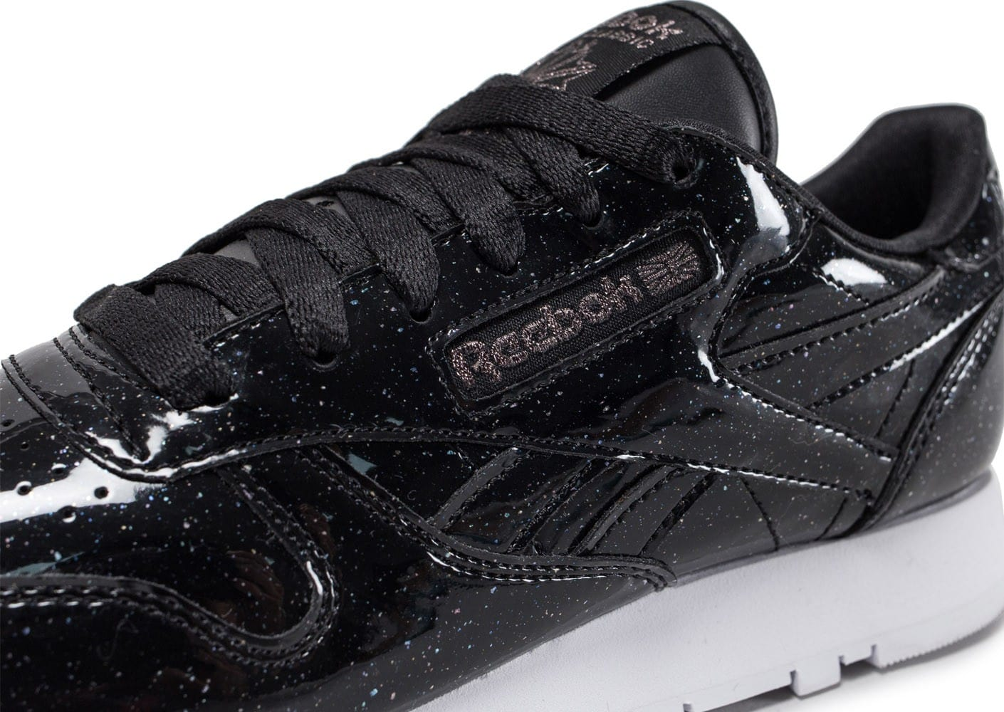 Reebok Classic Leather Patent Pearl W noire Chaussures