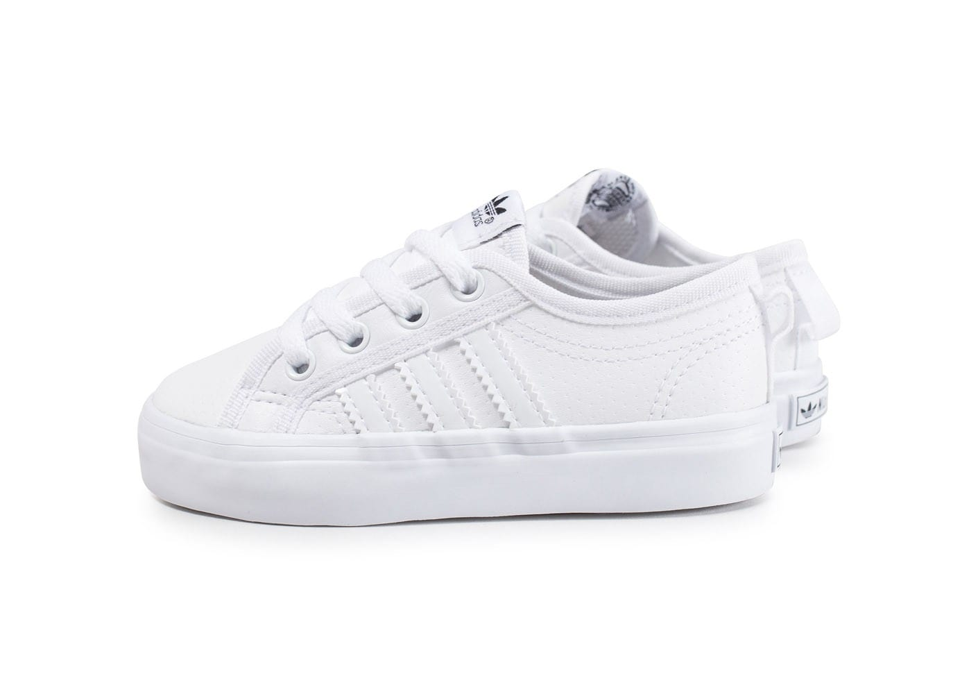 Low Blanche Nizza Adidas Chaussures Chausport Bébé W2eHYED9I