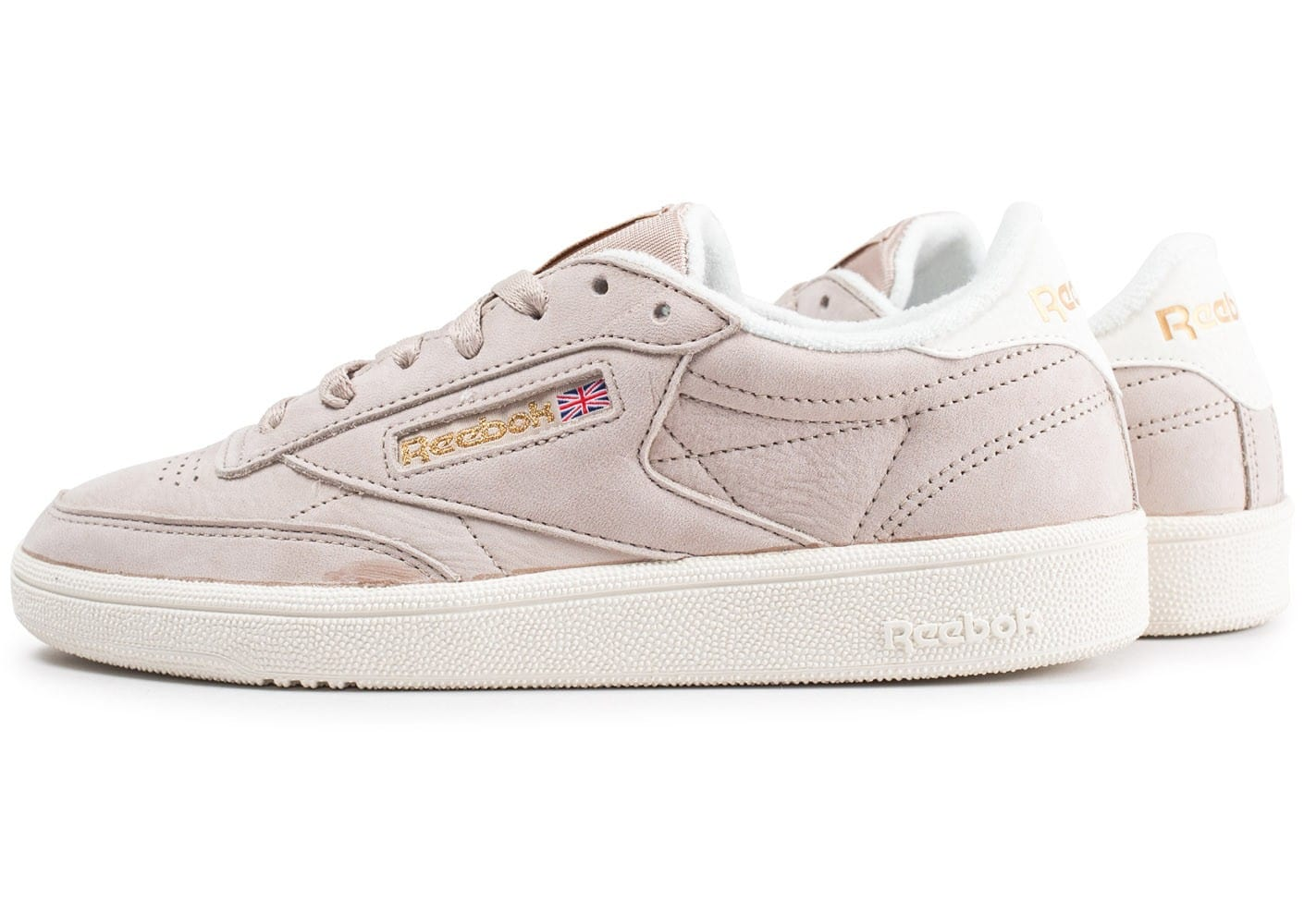 reebok club c 85 vintage beige chaussures baskets femme. Black Bedroom Furniture Sets. Home Design Ideas