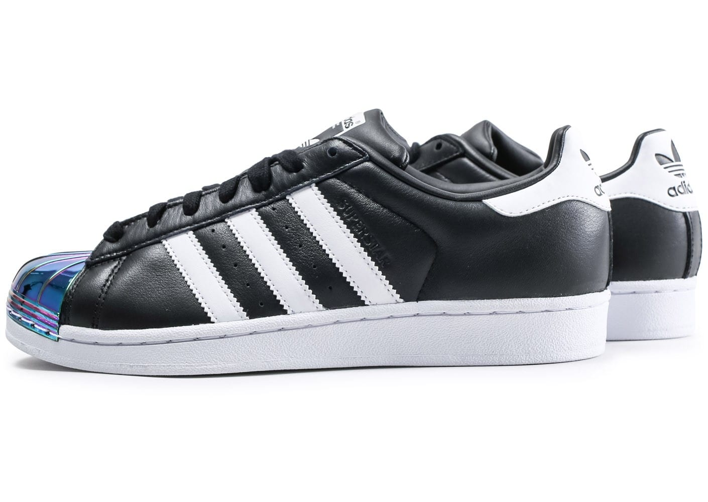 adidas superstar noir et metal