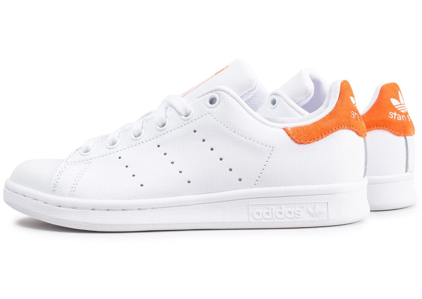 Et Orange Smith Suede Stan Chaussures Blanche Adidas qtwU1U