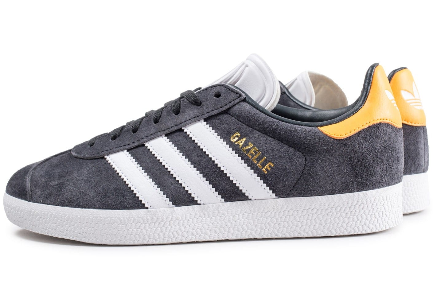 adidas gazelle gris fonc et jaune chaussures adidas chausport. Black Bedroom Furniture Sets. Home Design Ideas
