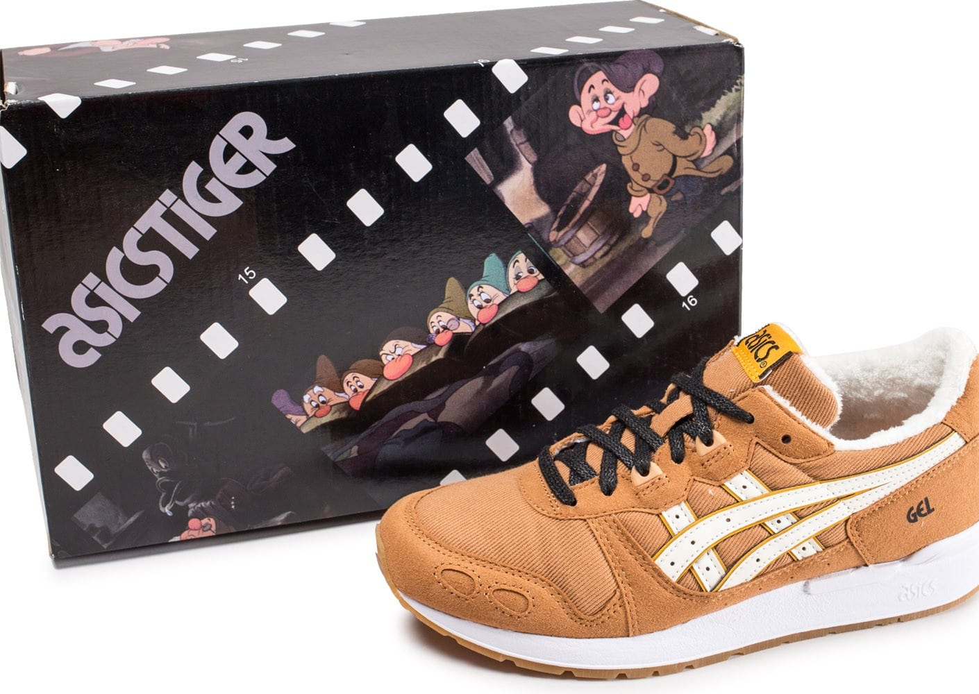 Asics Gel Lyte Disney junior marron clair Atchoum