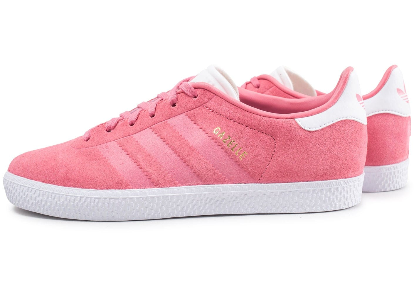 check-out 54578 d1490 adidas Gazelle junior rose - Chaussures adidas - Chausport
