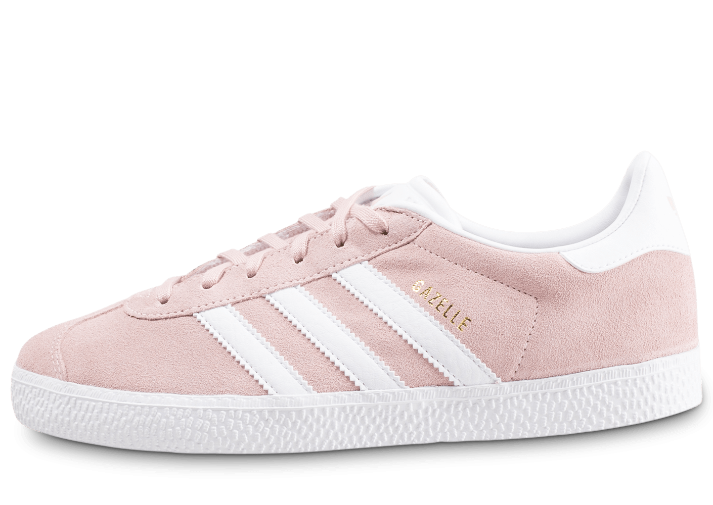 adidas gazelle grise et rose junior