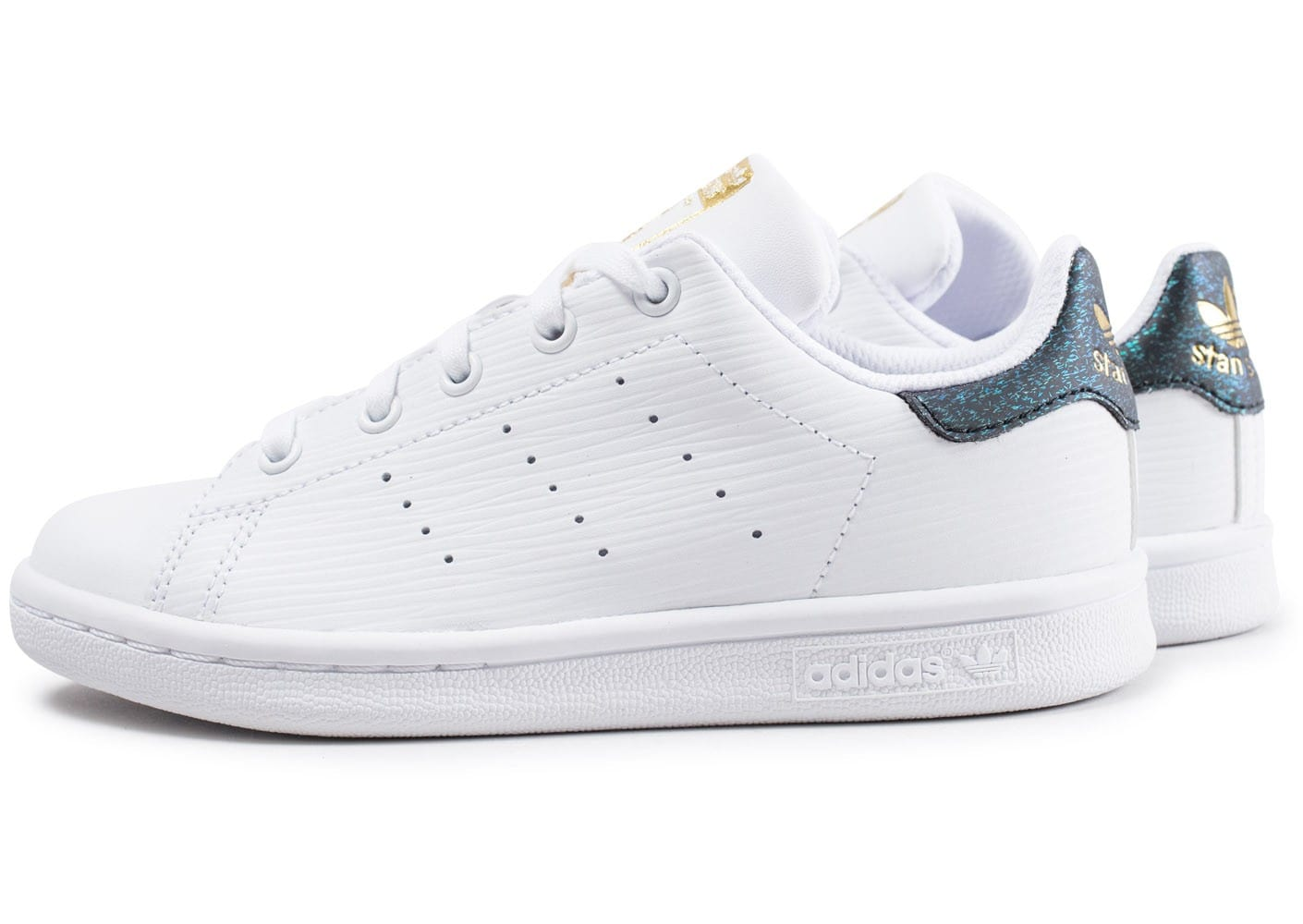 adidas stan smith enfant blanche et verte brillant. Black Bedroom Furniture Sets. Home Design Ideas
