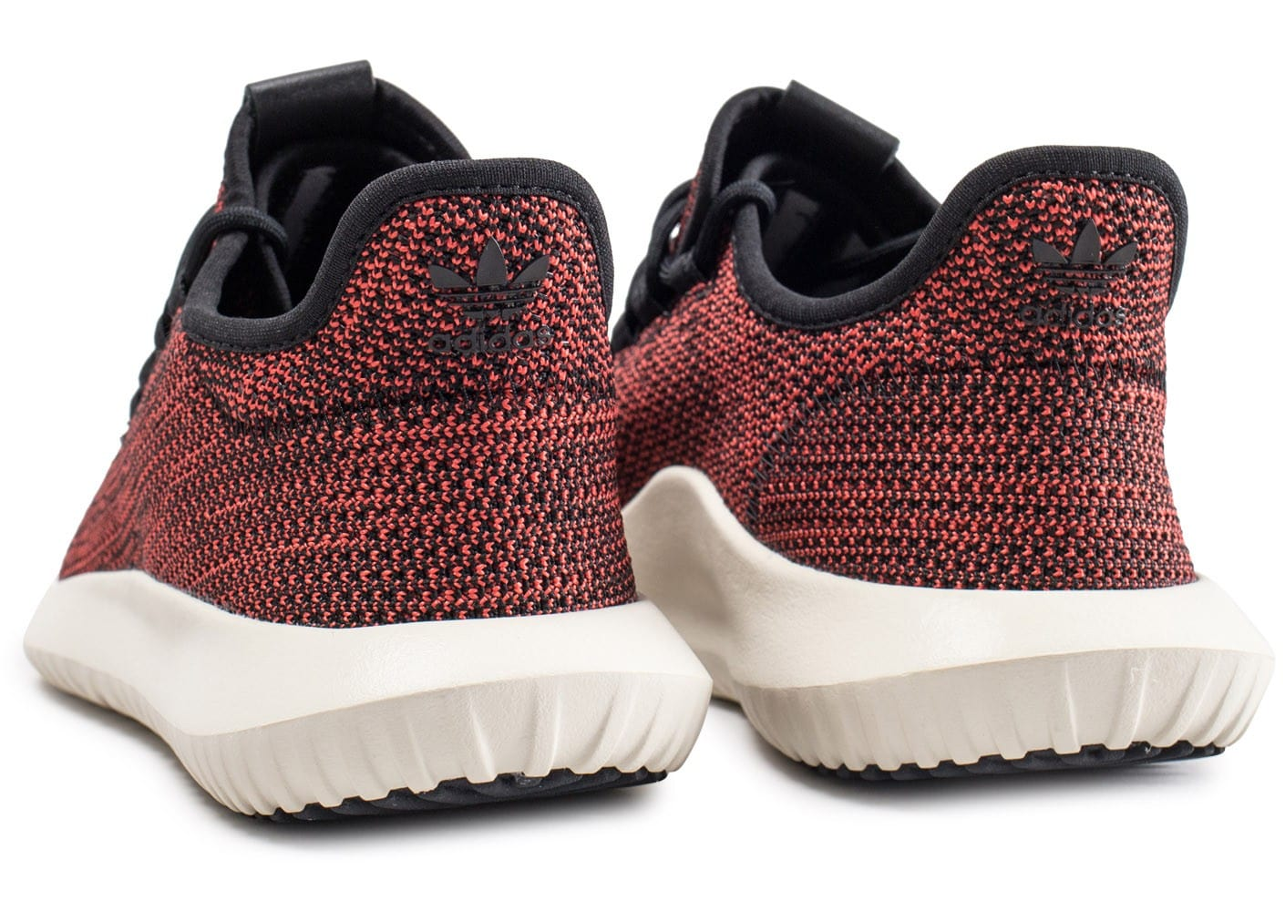 ... Chaussures adidas Tubular Shadow rouge vue dessous ...