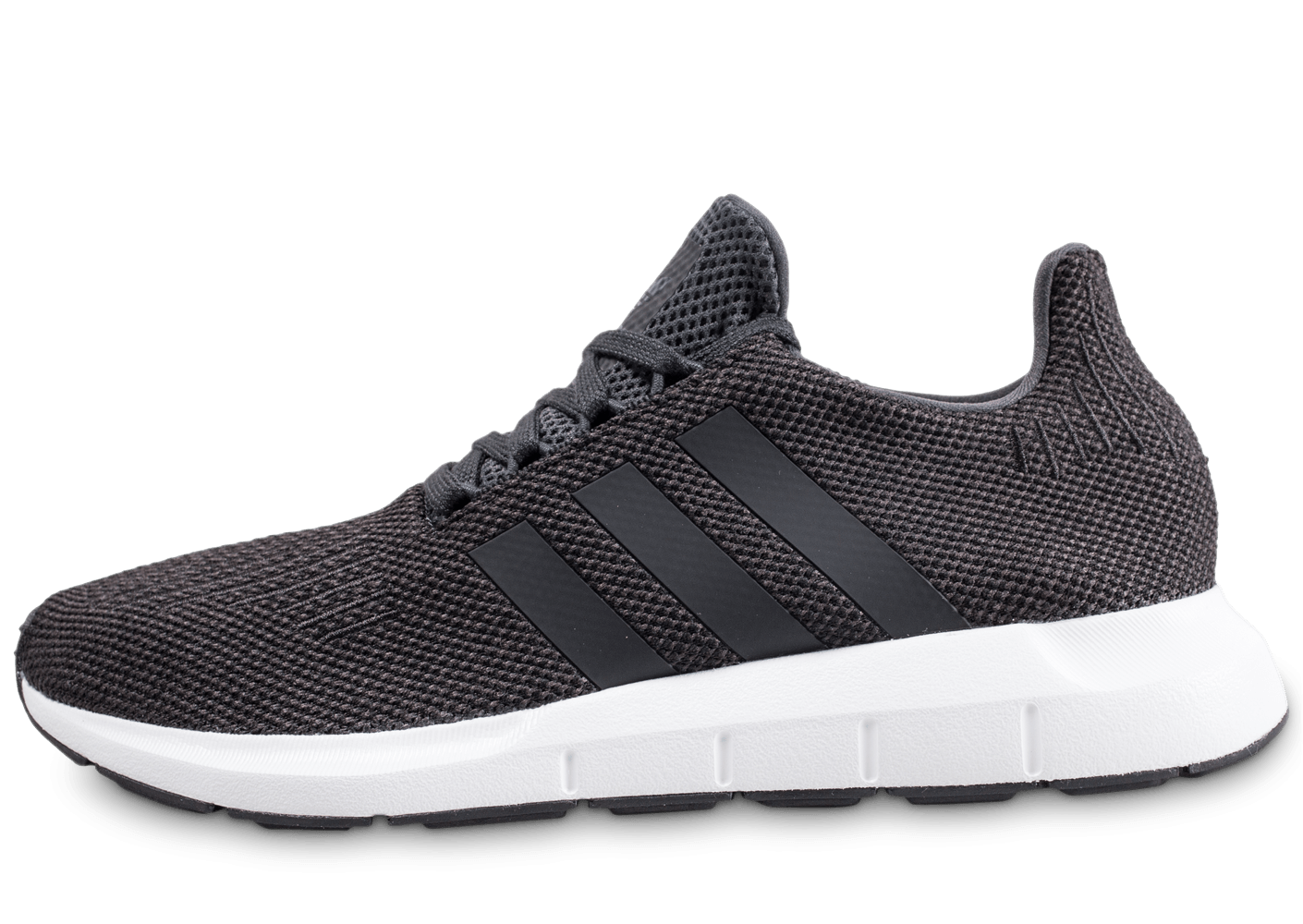 info for aecf9 27f2e adidas Swift Run grise et noire - Chaussures Baskets homme - Chausport