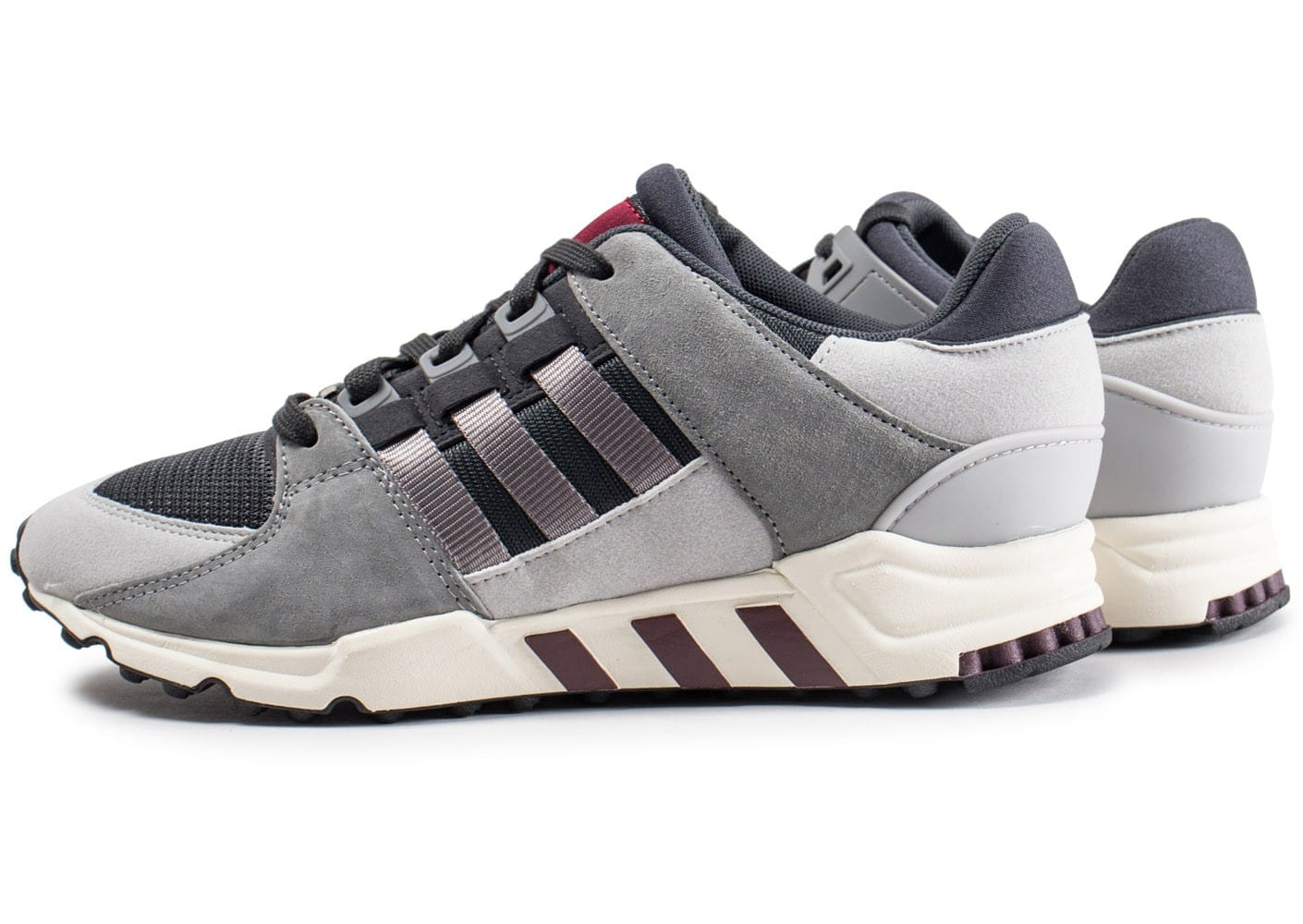 adidas Originals Eqt Support Rf Blanc/Gris/Rouge - Chaussures Baskets basses Homme