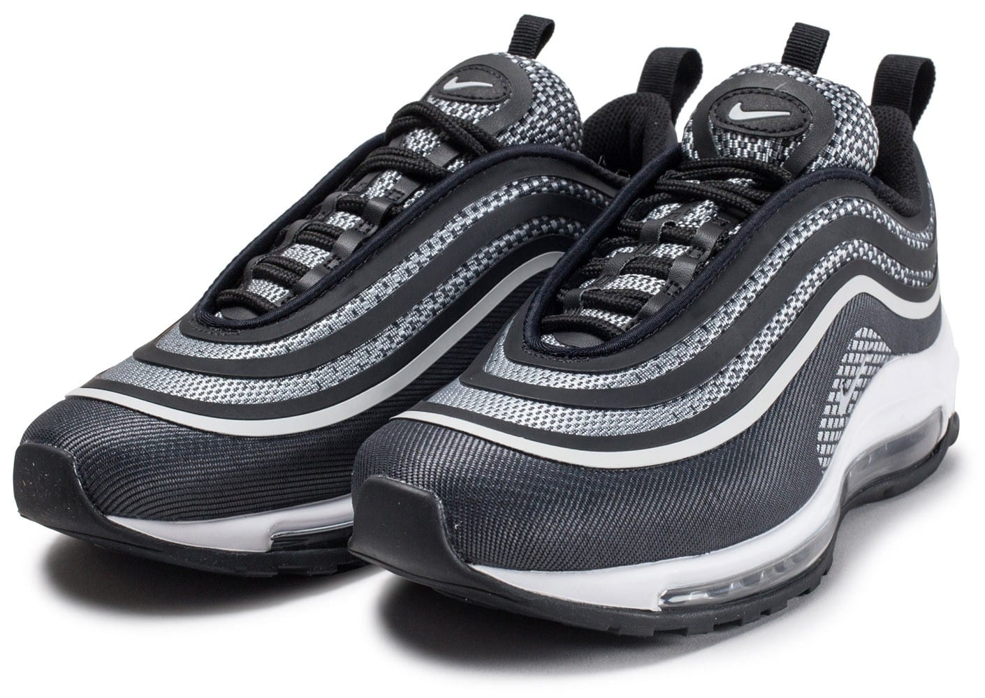 nike air max 97 ultra 39 17 noire et grise chaussures baskets femme chausport. Black Bedroom Furniture Sets. Home Design Ideas