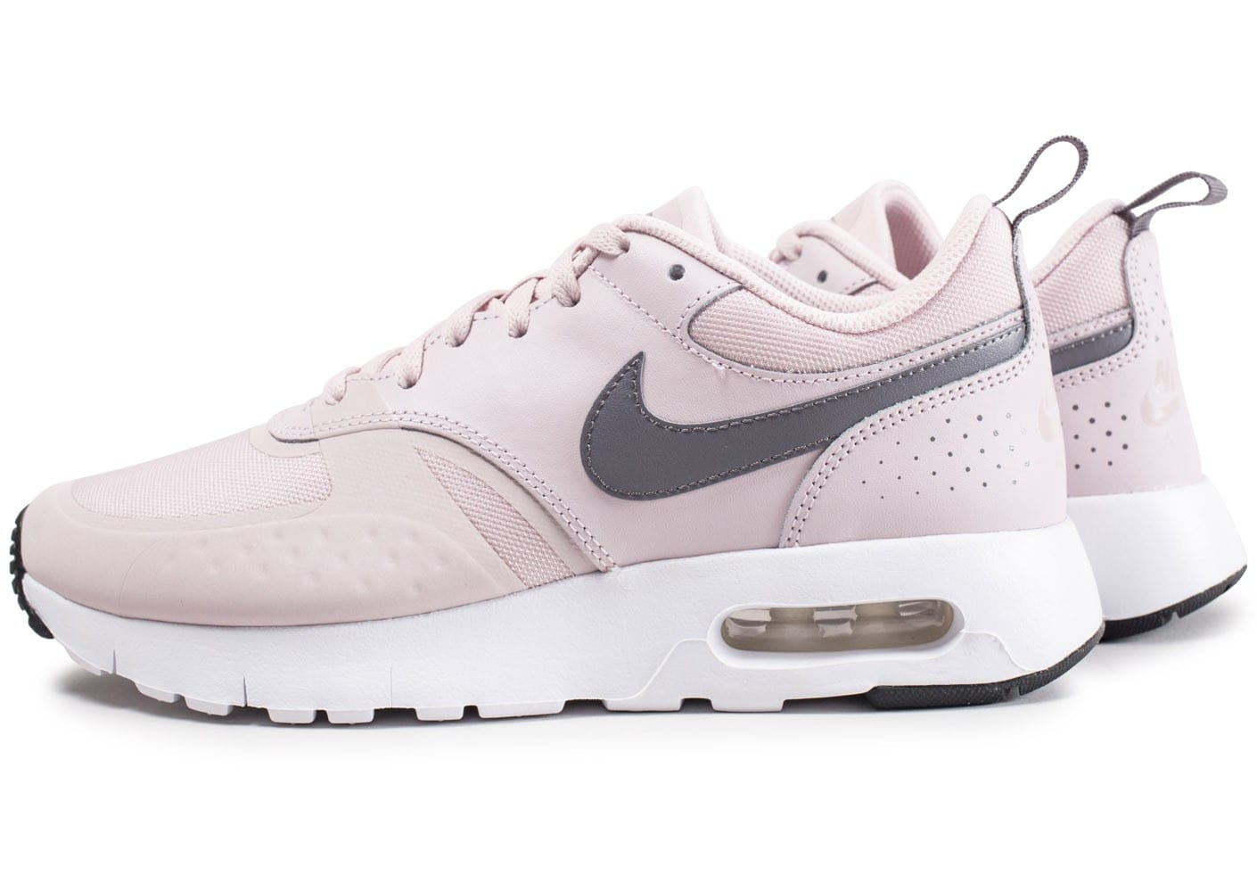 photos officielles 271d7 e67a2 Nike Air Max Vision junior rose et blanche - Chaussures ...