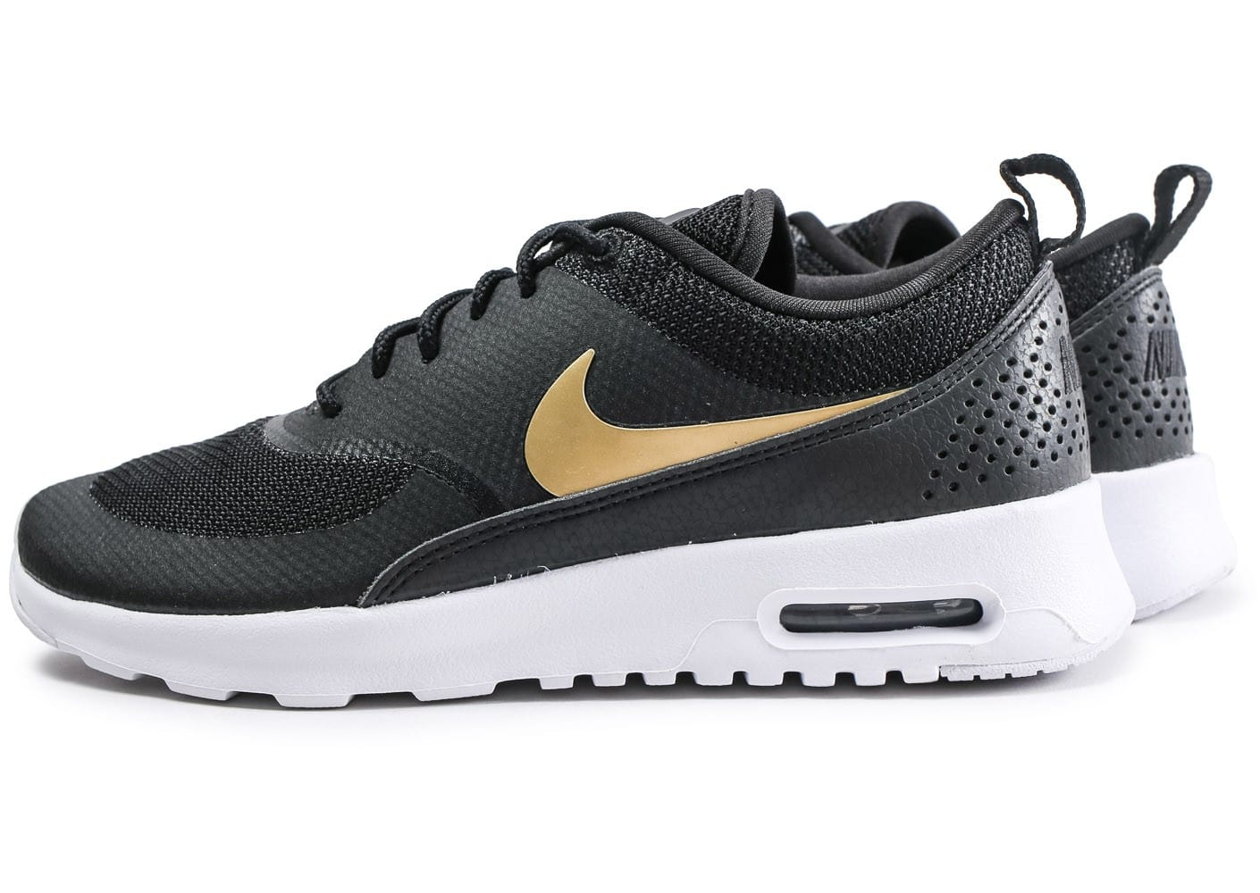 air max noir et or