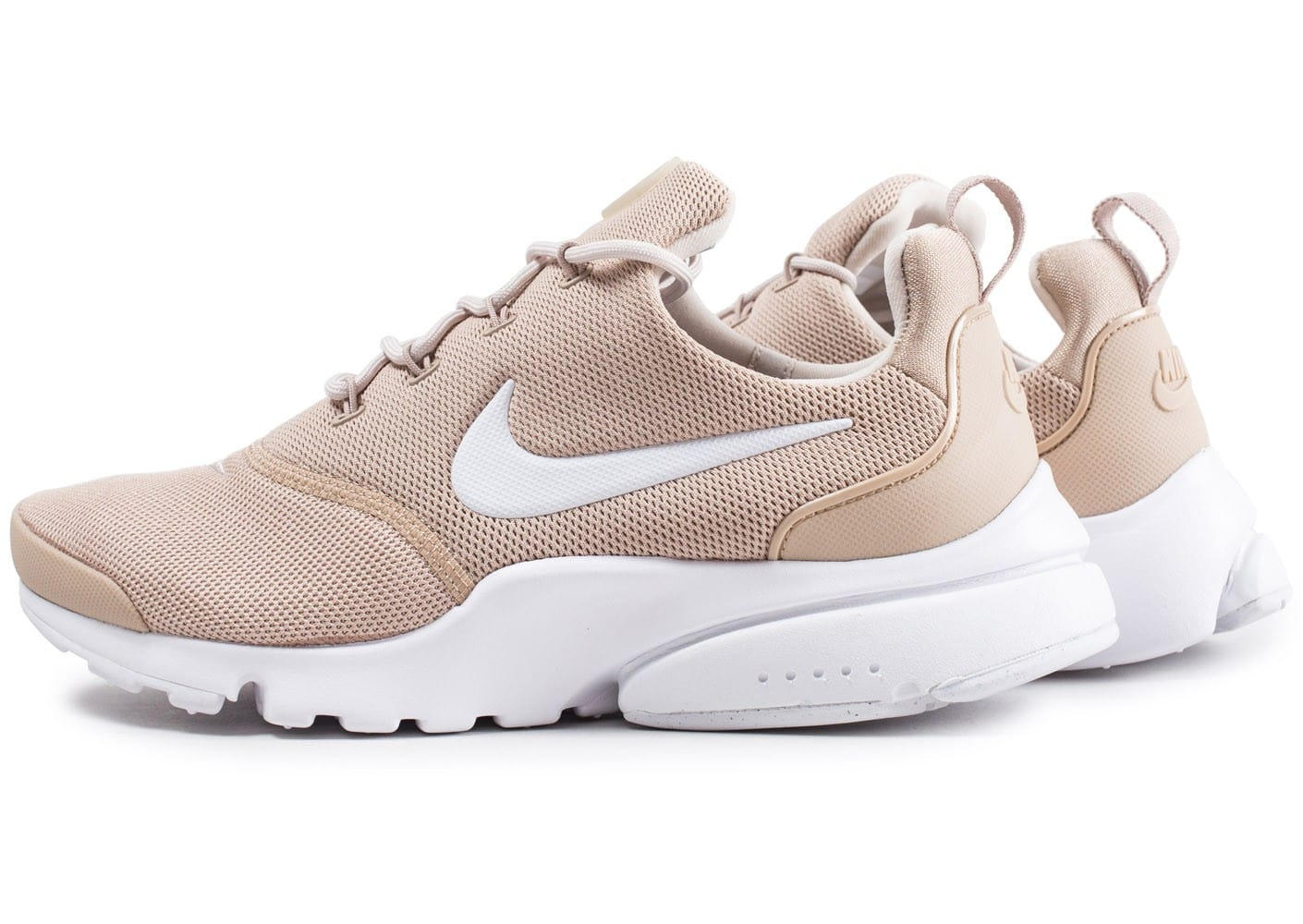 nike presto fly beige chaussures baskets femme chausport. Black Bedroom Furniture Sets. Home Design Ideas