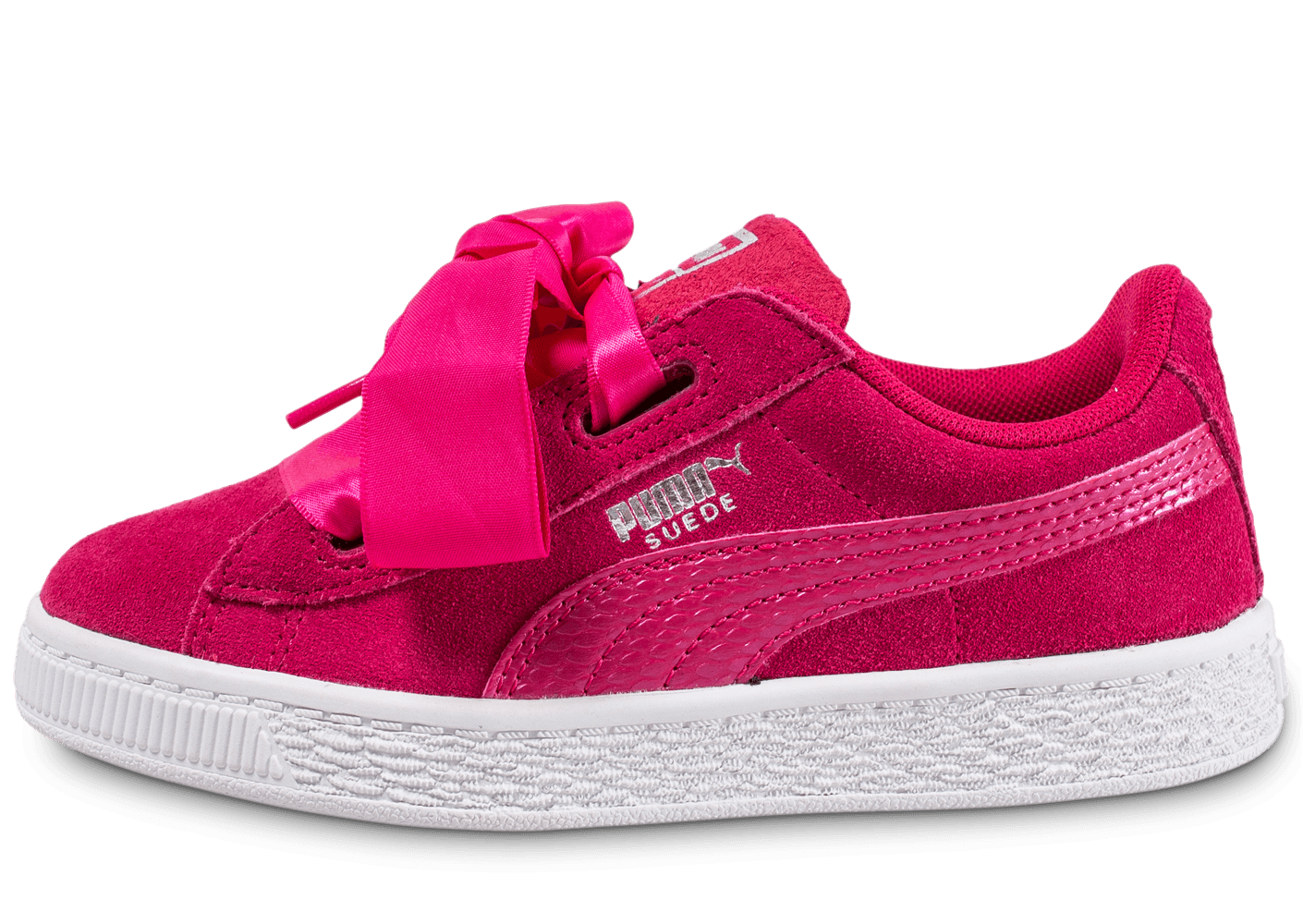 Love Rose Heart Suede Puma Enfant DHWEY29I