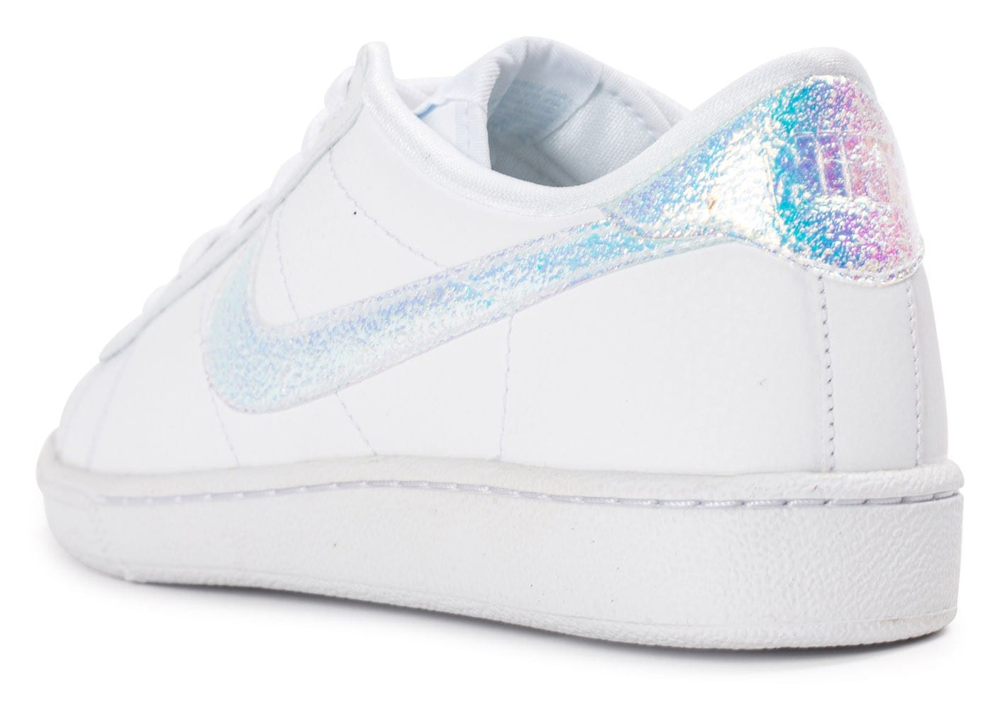 0cd51d7d936 Nike Tennis Classic Iridescente - Chaussures Baskets femme - Chausport