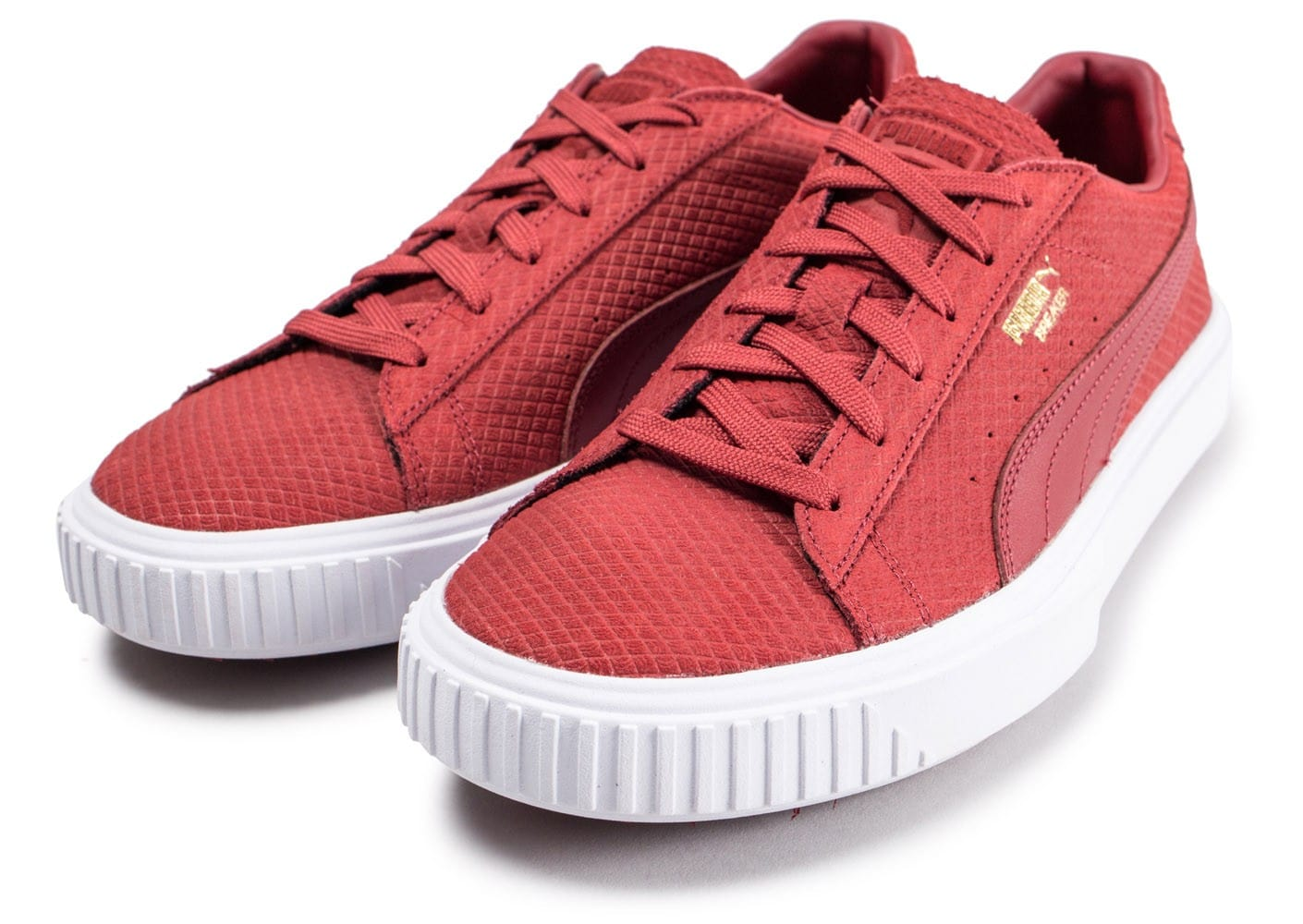 chaussures puma rouge homme