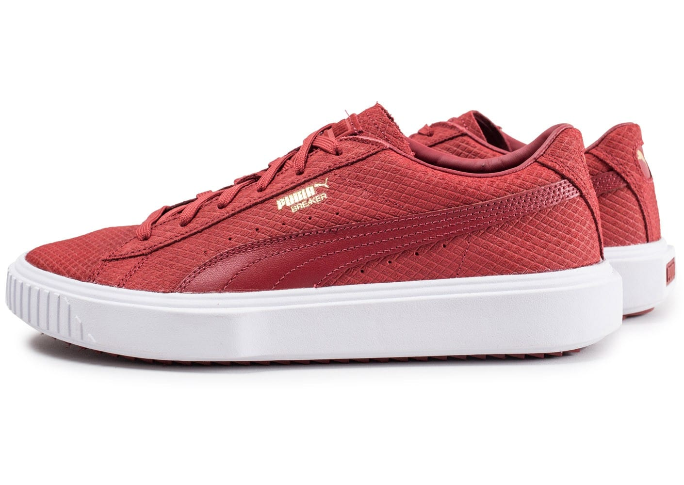 Chaussures Puma Homme Baskets Breaker Rouge Chausport dxeBrCoW