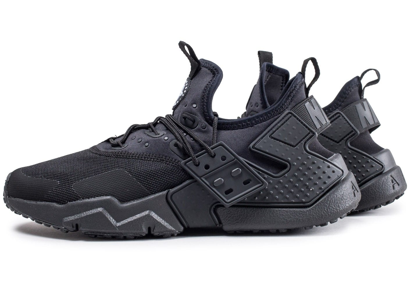new concept 9fe1a ac80e Nike Air Huarache Drift Noir - Chaussures Baskets basses Homme GH8HUA1Z -  destrainspourtous.fr