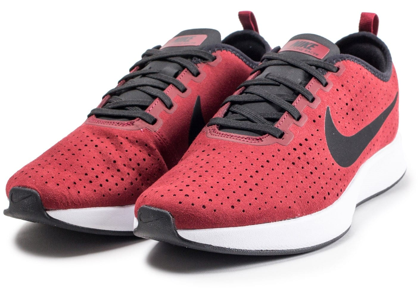 low priced 3a682 1084a ... Chaussures Nike Dualtone Racer rouge vue intérieure ...