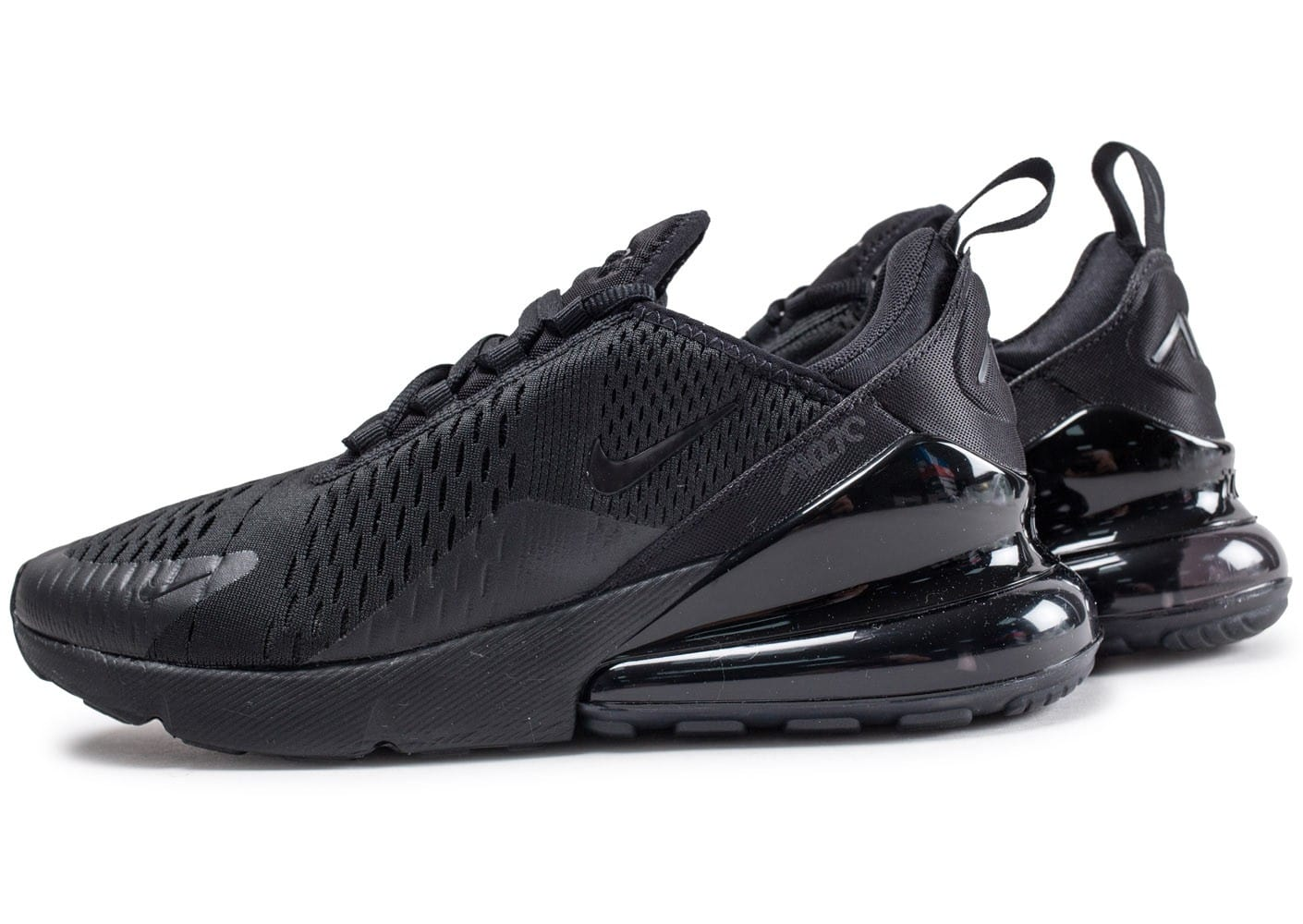Nike Air Max 270 Triple black - Chaussures Baskets homme ...