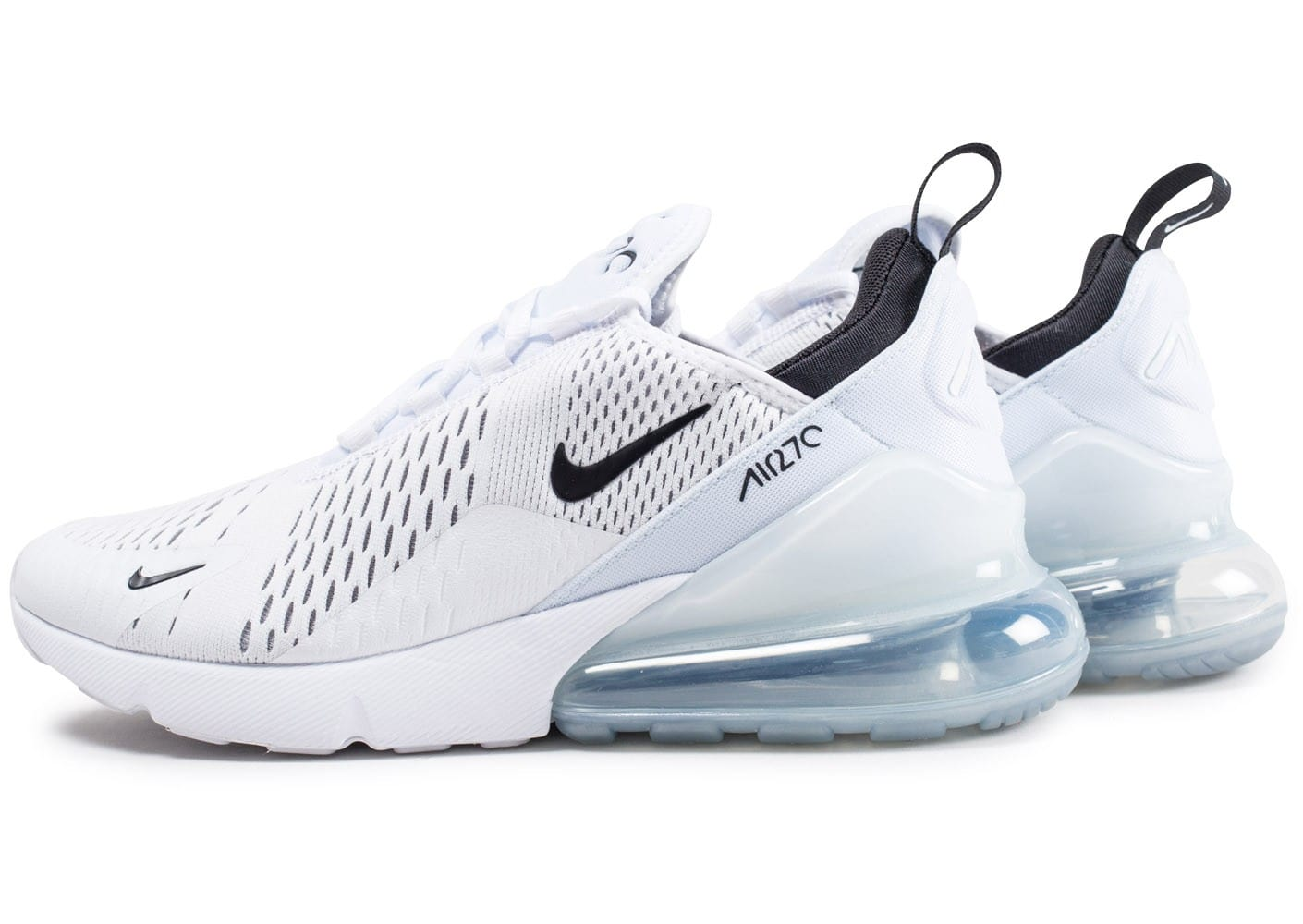 ever popular incredible prices sale Nike Air Max 270 blanche et noire - Chaussures Baskets homme ...