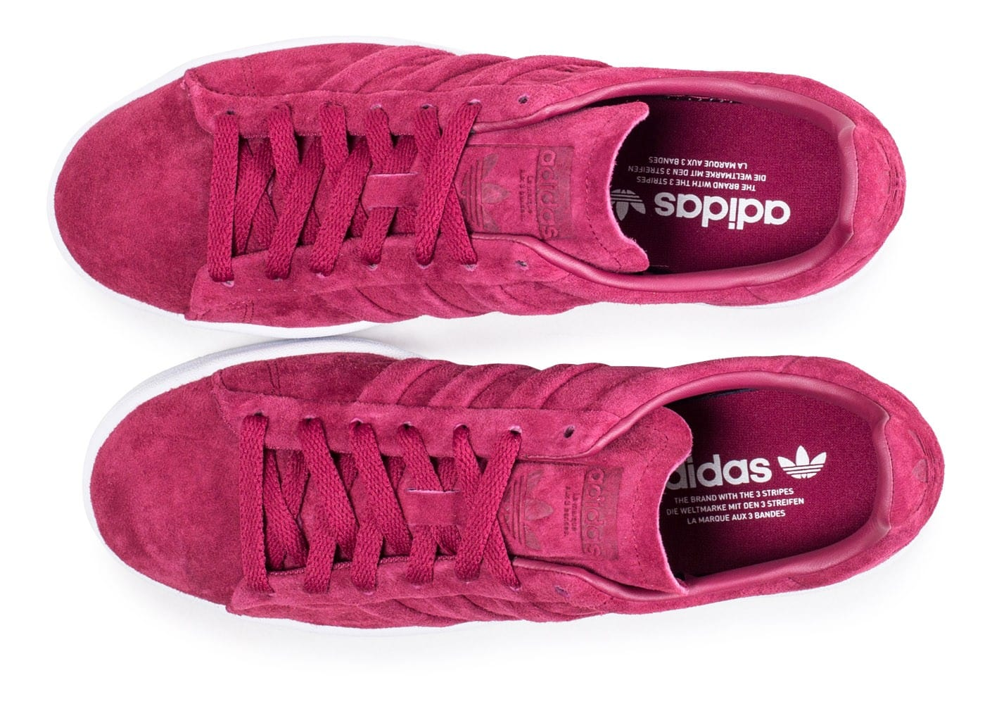 Bordeaux Turn Stitch Baskets Adidas Chaussures Rouge Campus And 7wPnW8Xq