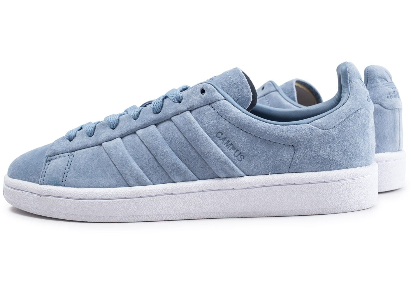 adidas Campus Stitch and Turn bleu Chaussures Baskets homme
