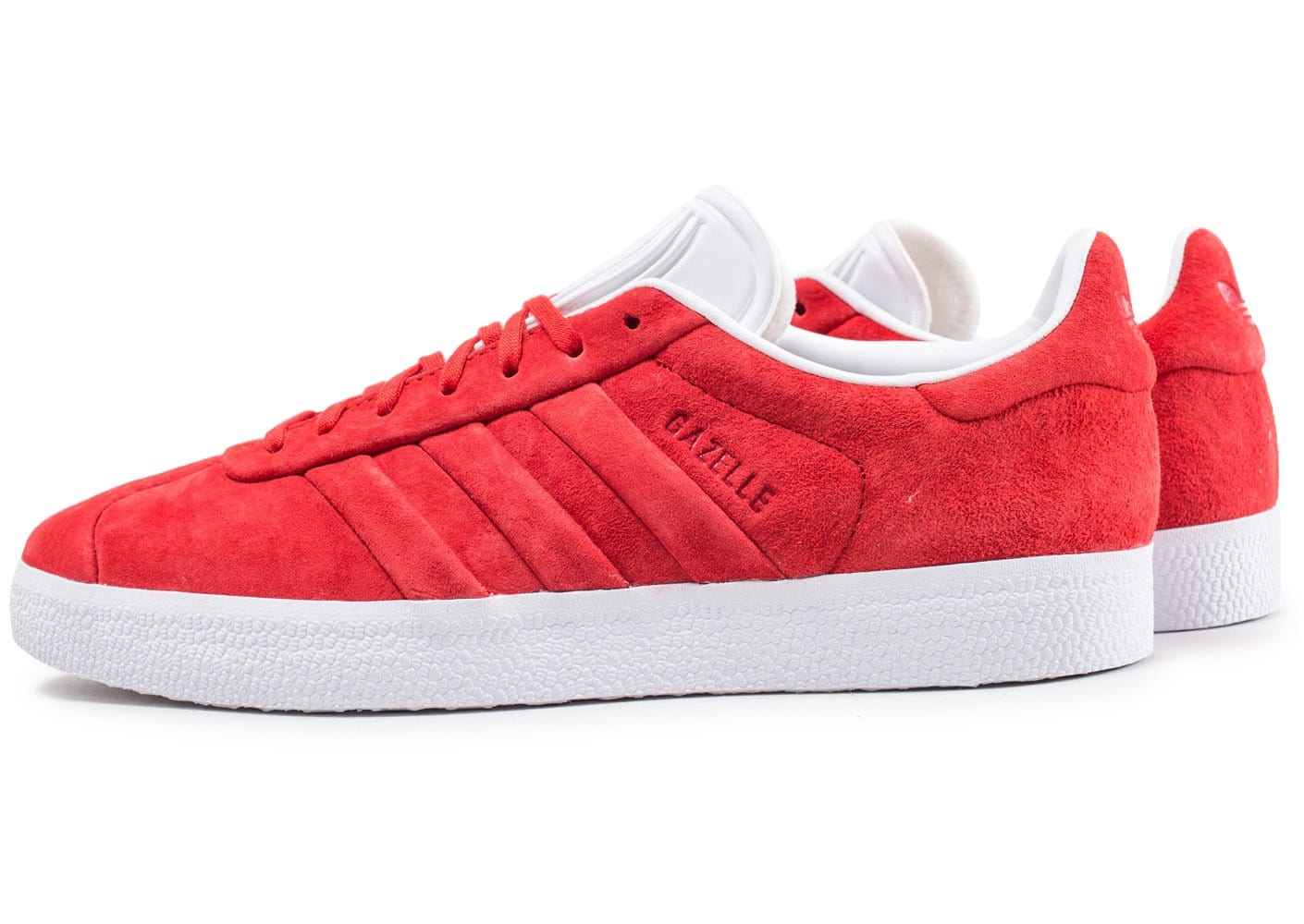 adidas Gazelle Stitch and Turn rouge Chaussures Baskets