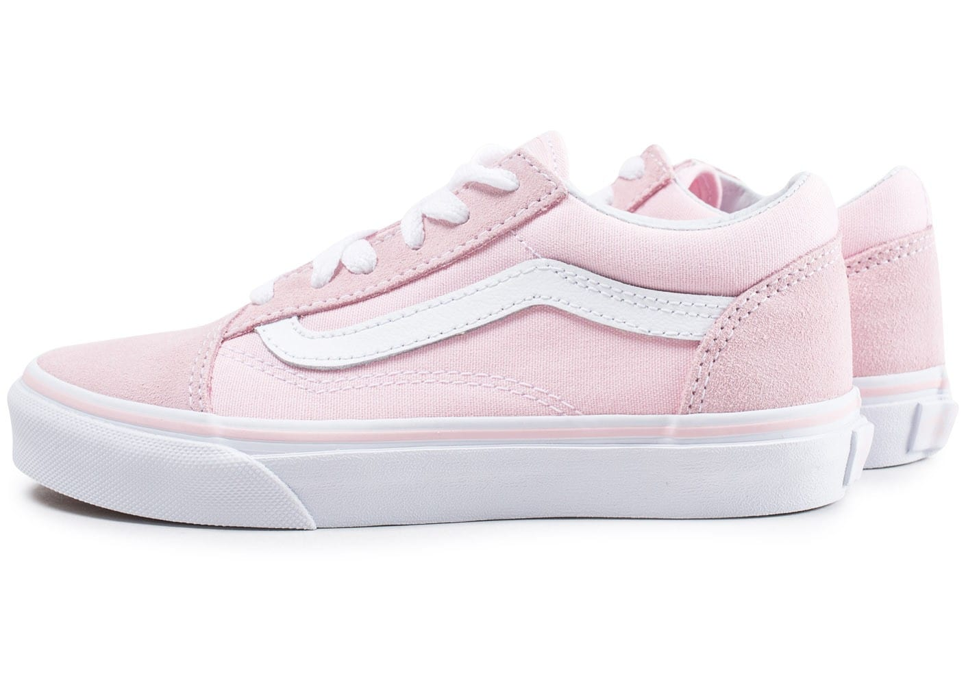 vans old skool enfant rose