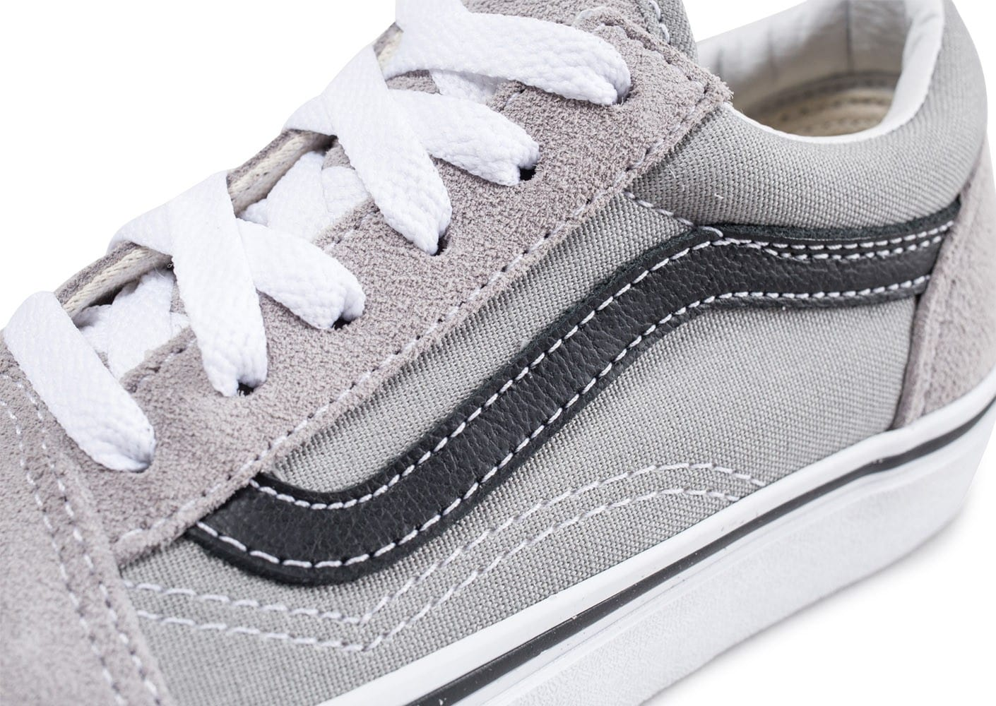 vans old skool enfant gris 38